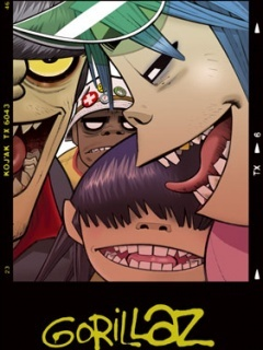 Gorillaz-3 Mobile Wallpaper