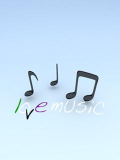 Love Music Mobile Wallpaper