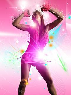 Dance In Park Mobile Wallpaper