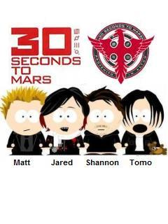 30 Seconds To Mars Mobile Wallpaper