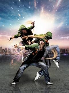 Hip Hop Dancin Mobile Wallpaper