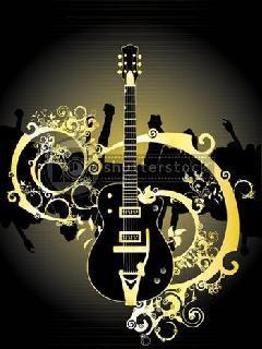 Black Music  Mobile Wallpaper