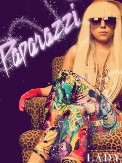 Hot Lady Gaga Mobile Wallpaper