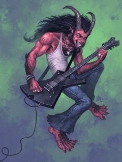 Metal Devil Mobile Wallpaper