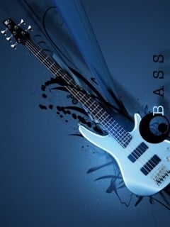 Bass Guitar Mobile Wallpaper
