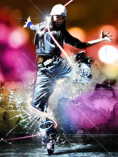 Break Dancer Mobile Wallpaper