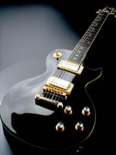 Black Beauty Gibson Mobile Wallpaper