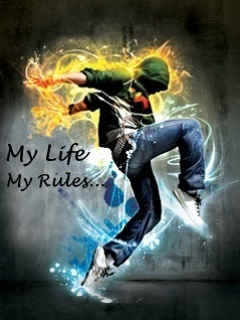 My Life My Rules Mobile Wallpaper