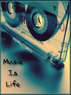 Music My Life Mobile Wallpaper