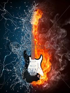 Rock Guitar Mobile Wallpaper
