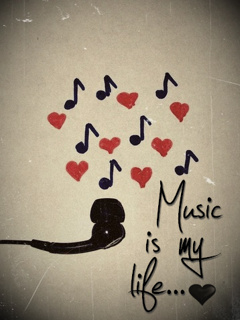 Music Is My Life Mobile Wallpaper