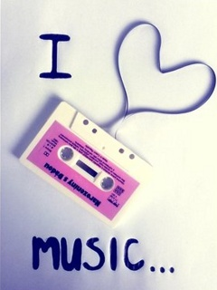 I Love Music Mobile Wallpaper