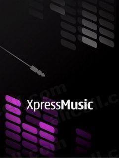 Xpress Music Mobile Wallpaper