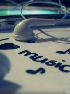 Download I Love Music Mobile Wallpaper | Mobile Toones