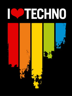 Techno Music Mobile Wallpaper