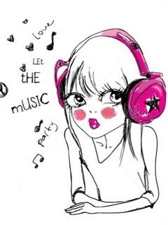 Love The Music Mobile Wallpaper