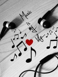 Download Music Is My Life Mobile Wallpaper Mobile Toones