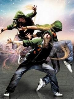Hip Hop Dancing Mobile Wallpaper