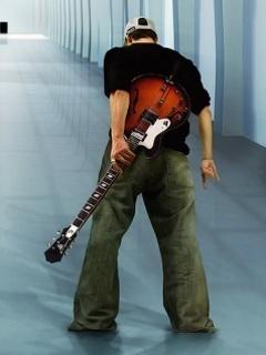 Guitar Guy Mobile Wallpaper