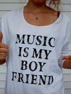 Music My Boyfriend Mobile Wallpaper
