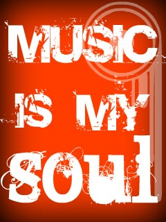 Music Is My Soul Mobile Wallpaper