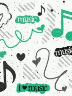 Music Notes Mobile Wallpaper
