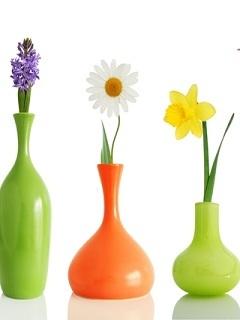 Flower Vase Mobile Wallpaper