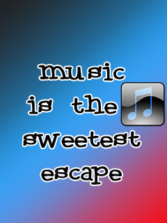 Music Is Sweetest Mobile Wallpaper