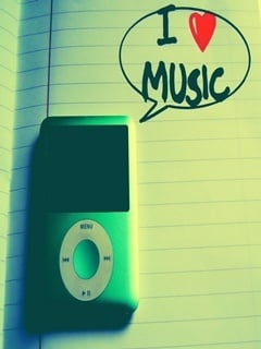 Love Music Mobile Wallpaper