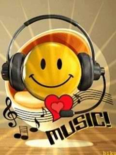 Music Love Smile Mobile Wallpaper