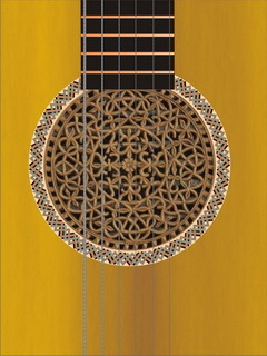 Clasic Guitar Mobile Wallpaper