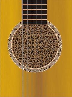 Clasic Guitar Mobile Wallpaper