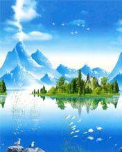 Blue Sky Mobile Wallpaper