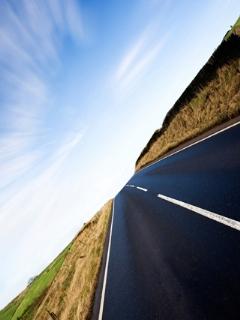 The Road Wallpaper Mobile Wallpaper