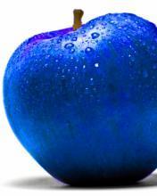 Blue Apple Mobile Wallpaper