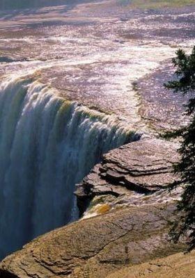 Alexandra Falls Northweat Territory Canada Mobile Wallpaper