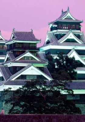 Kumamoto Castle Kumamoto Japan Mobile Wallpaper