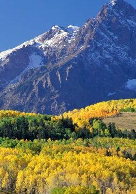 Mount Sneffels Uncompahgre Natinal Forest Colorado Mobile Wallpaper