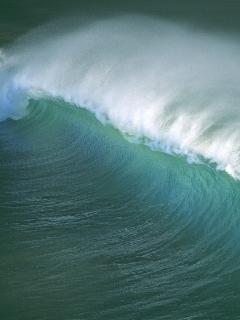 Water In Sea Mobile Wallpaper
