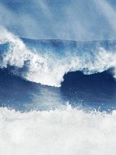 White Sea Mobile Wallpaper