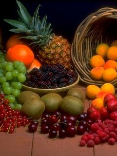 Fruits 2 Mobile Wallpaper