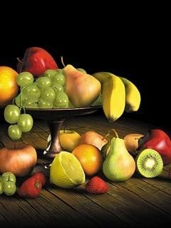 Banana Fruits Mobile Wallpaper
