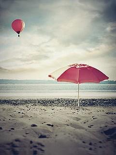Cute Beach Mobile Wallpaper