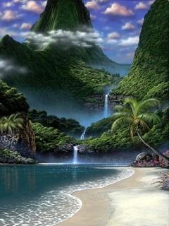 Fantasy Island Mobile Wallpaper