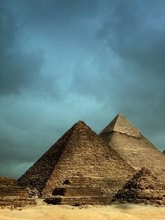 Pyramids Mobile Wallpaper