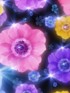 Lighful Flower Mobile Wallpaper