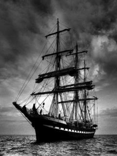 Lonly Ship Mobile Wallpaper