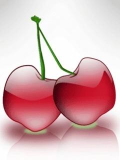 Cherries Mobile Wallpaper