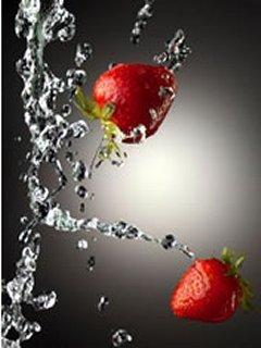 Strawberries Mobile Wallpaper