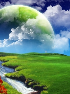 Positive Energy Mobile Wallpaper